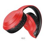 Беспроводные внешние наушники HOCO W30 Fun move BT wireless headphones, цвет: красный