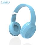 Наушники bluetooth KADUM KD48, цвет: голубой