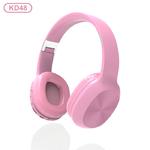 Наушники bluetooth KADUM KD48, цвет: розовый