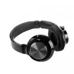 Наушники полноразмерные Karler BASS KR-150BY, bluetooth, FM, TF, microSD, цвет: чёрный