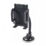 Держатель автомобильный Defender, Car holder 111, для смартфона, присоска, гибкая нога, чёрный