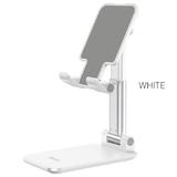 Держатель настольный HOCO, PH29А, Carry, для планшета и телефона, силикон, алюминий, белый
