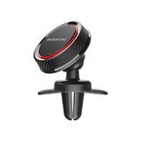 Держатель автомобильный Borofone, BH12, Journey, для смартфона, воздуховод, шарнир, магнит, чёрный