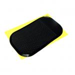 Автомобильный нескользящий коврик для телефона, черный