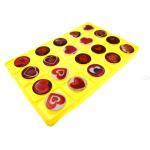 Универсальный держатель попсокет с рисунком сердец, в блистере, 20 шт.