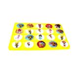 Универсальный держатель попсокет, круглый эффект стекла, куклы LOL в ассортименте, 20 шт в упаковке