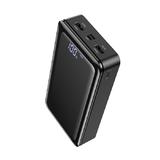 Аккумулятор внешний Borofone BJ8, Extreme, 30000mAh, дисплей, Type-C, микро USB, 2.0A, чёрный