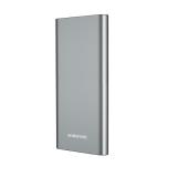 Аккумулятор внешний Borofone BT19A, Universal, 15000mAh, металл, 2 USB выхода, 2.0A, цвет: серый