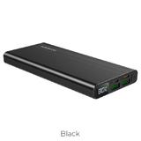 Универсальный дополнительный аккумулятор BOROFONE BT34 Veloscity PD+QC3.0 (10000mAh) черный