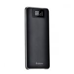 Аккумулятор внешний FaisON HB23A, Flowed, 15000mAh, 2 USB выхода, дисплей, 2.0A, фонарик, чёрный