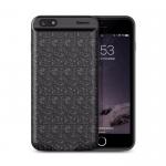 Аккумулятор внешний Baseus для APPLE iPhone 7, Plaid LBJ01, 5000mAh, пластик, 1A, цвет: чёрный