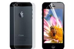 Плёнка защитная Okcase для APPLE iPhone 5/5S (комплект на 2 стороны) (глянцевая)