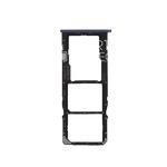 Держатель SIM карты для Huawei Honor 7a Pro AUM L29 / Y6 Prime (2018) ATU L11 / 7c AUM L41 черный