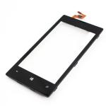 Тачскрин для Nokia Lumia 520/525 1-я категория (черный в рамке)