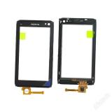 Тачскрин для Nokia N8 в рамке, 1-я категория (черный)LP
