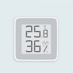Датчик температуры и влажности XIAOMI, Miaomiaoce, пластик, bluetooth, с дисплеем, цвет: белый
